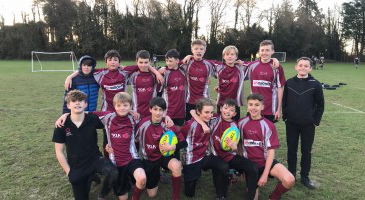 A Close Win For Y8 Rugby Team