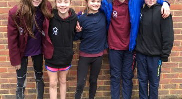 Qualifiers for Hampshire Cross Country event